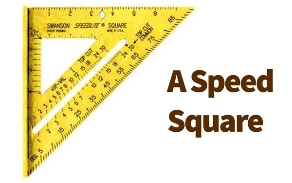How to use a speed square