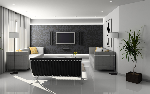 Interior design, decoration and home staging